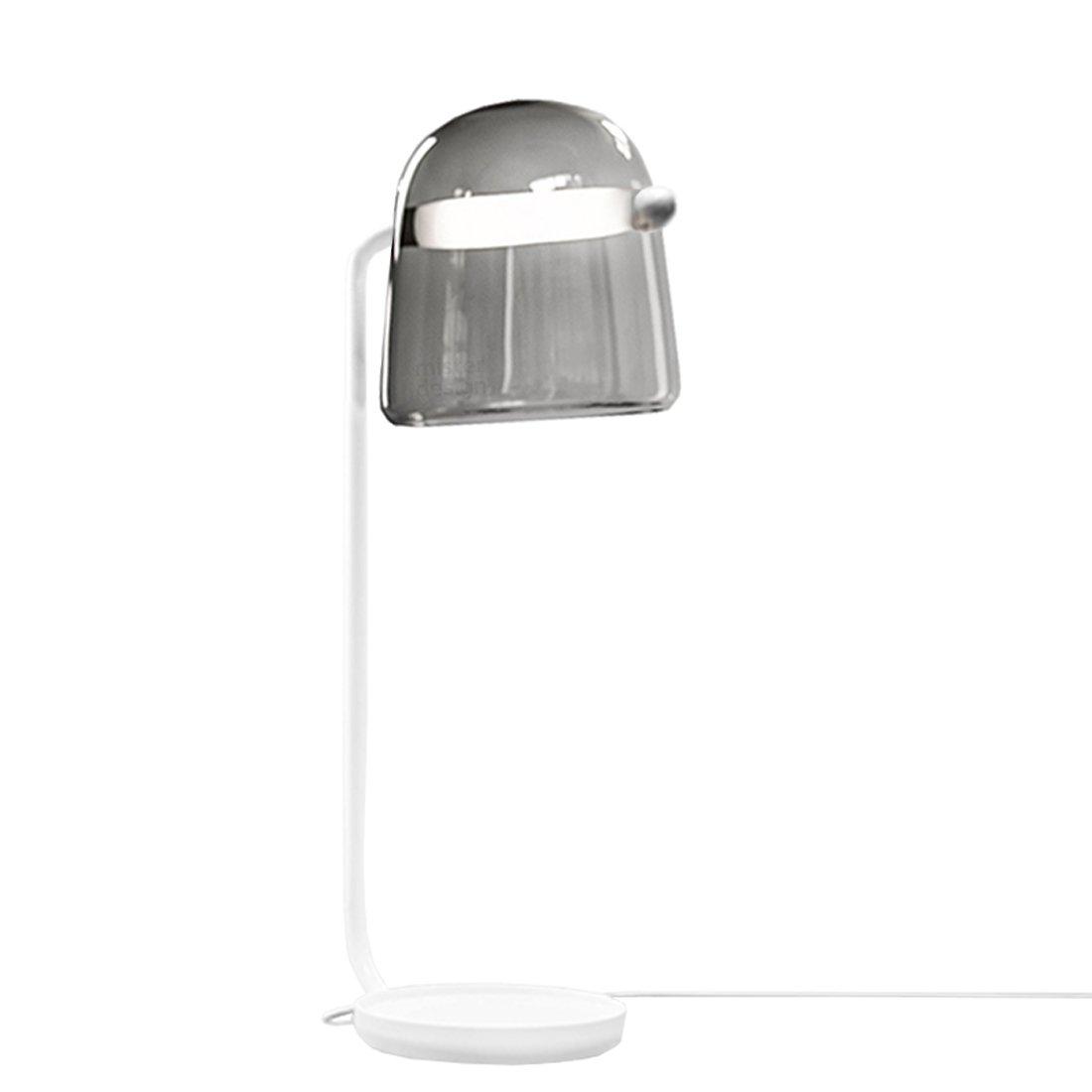 Brokis Mona Vloerlamp Large Donkergrijs - Witte Body