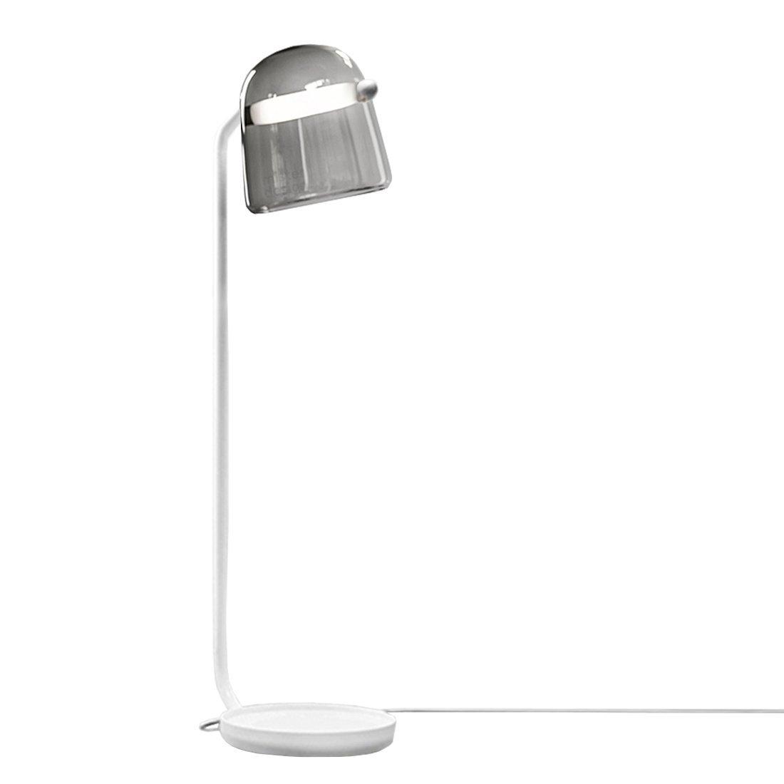 Brokis Mona Vloerlamp Medium Donkergrijs - Witte Body