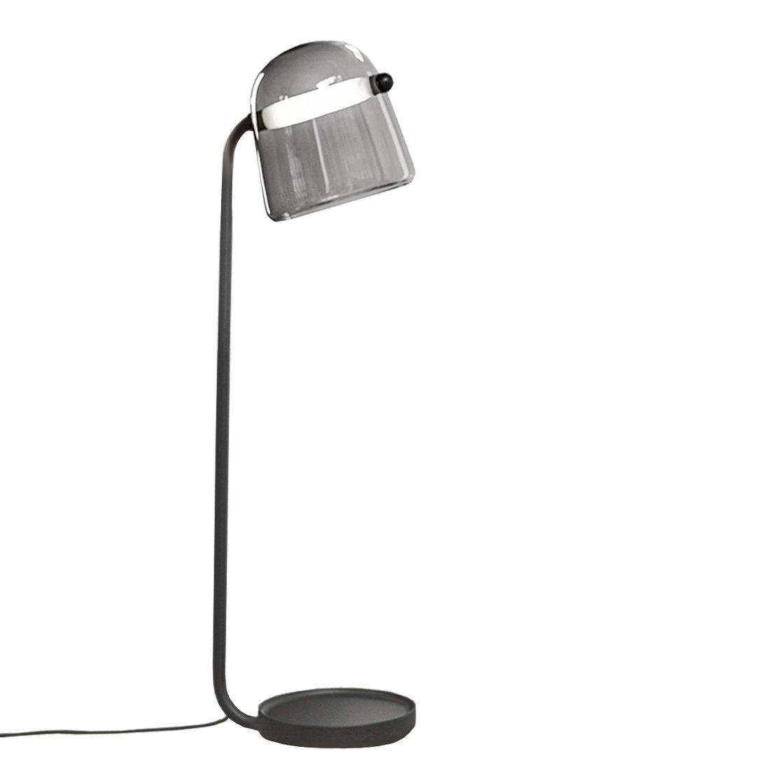 Brokis Mona Vloerlamp Medium Donkergrijs - Zwarte Body