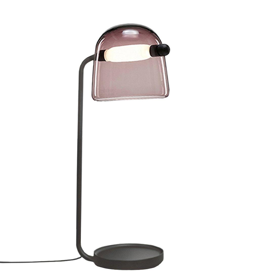 Brokis Mona Vloerlamp Large Violet - Zwarte Body