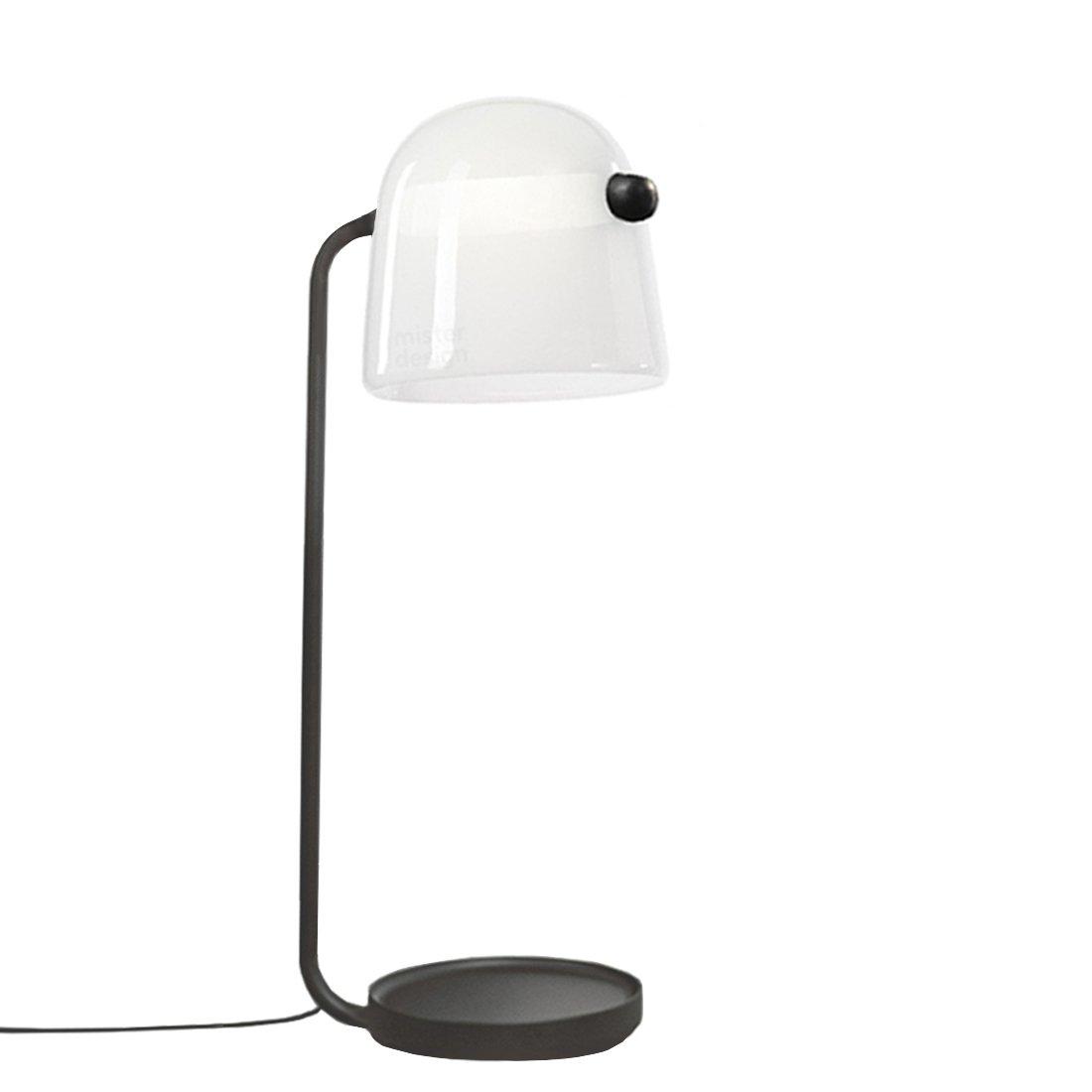Brokis Mona Vloerlamp Large Wit - Zwarte Body