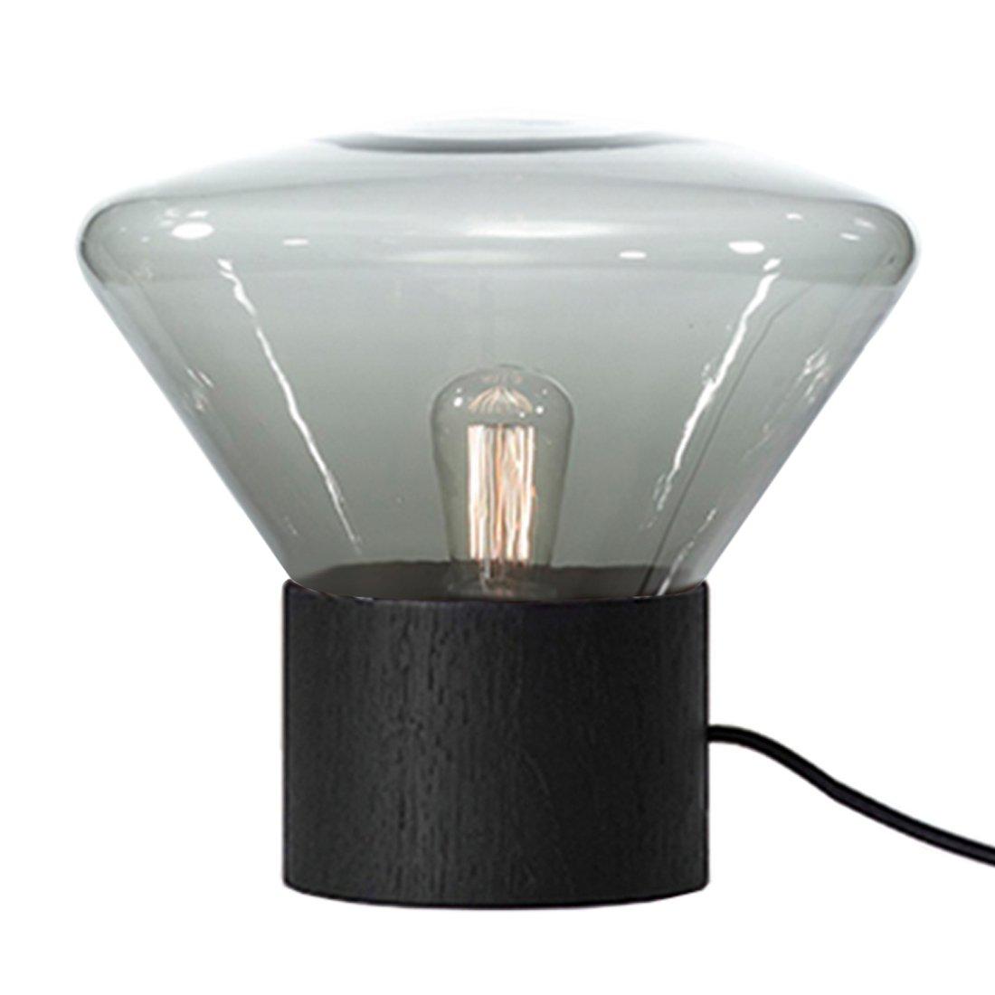 Brokis Muffin M Lamp - Smoked Grey - Zwart Eiken
