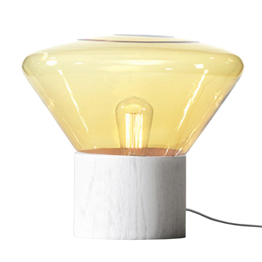 Brokis Muffin M Lamp - Amber - Wit Eiken