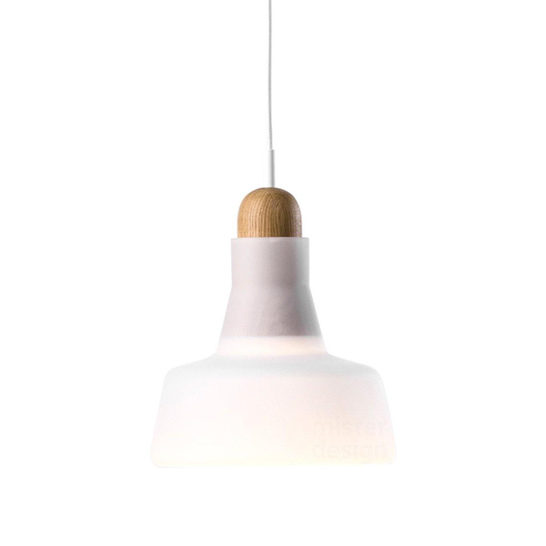 Brokis Shadow Waist Hanglamp - Europees Eiken Glossy Opaal