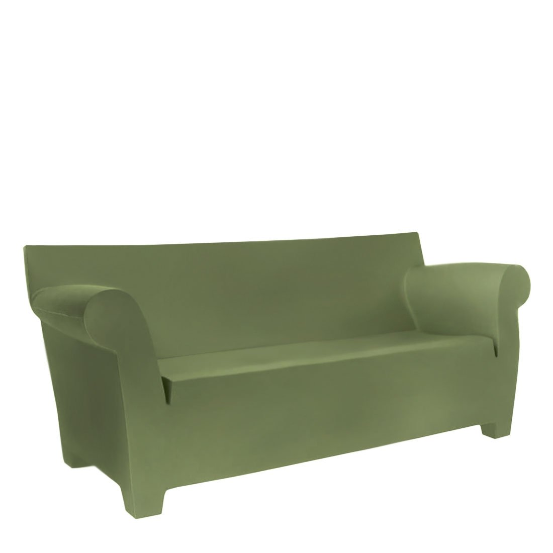 Kartell Bubble Club Bank - Groen