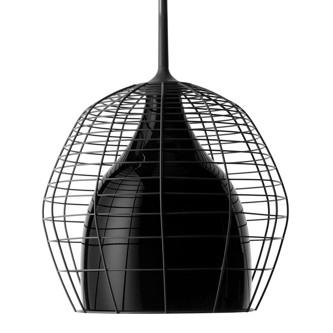 Diesel Cage Hanglamp L Zwart / Zwart
