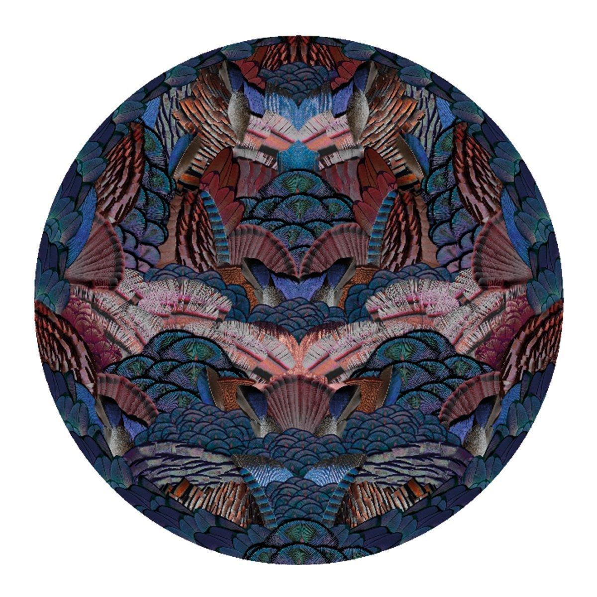 Moooi Carpets - Calligraphy Bird Vloerkleed - �350 cm. - Low Pile