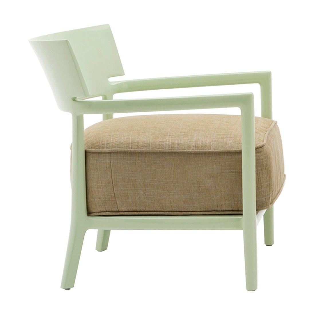 Kartell Cara Fauteuil Solid Color - Groen