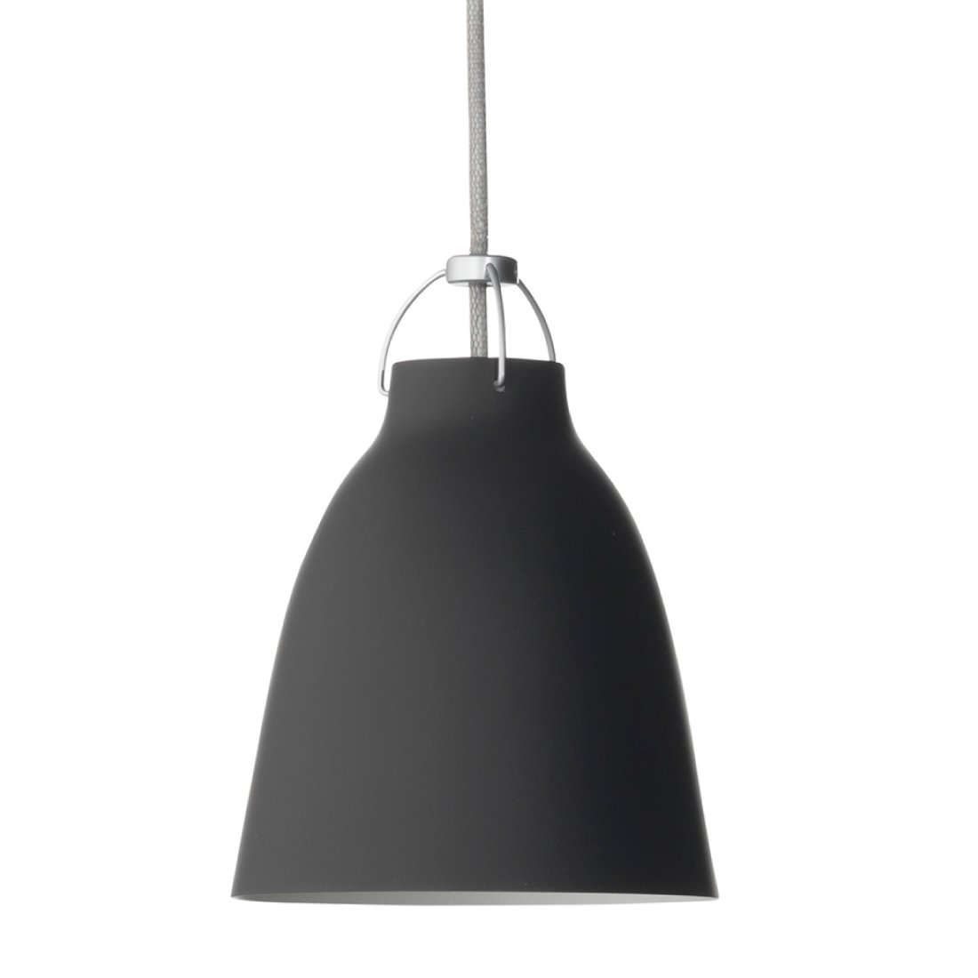 Lightyears Caravaggio P1 HanglampMat Zwart - Wit