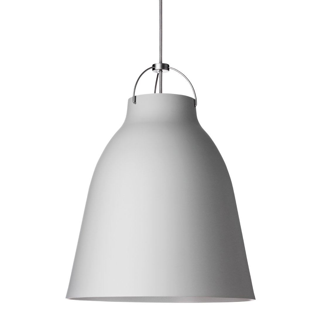 Lightyears Caravaggio P3 Mat Licht Grijs - Licht Grijs - Snoer 600 cm