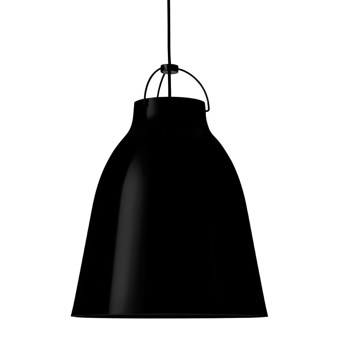 Lightyears Caravaggio P3 Hoogglans Zwart - Zwart - Snoer 600 cm