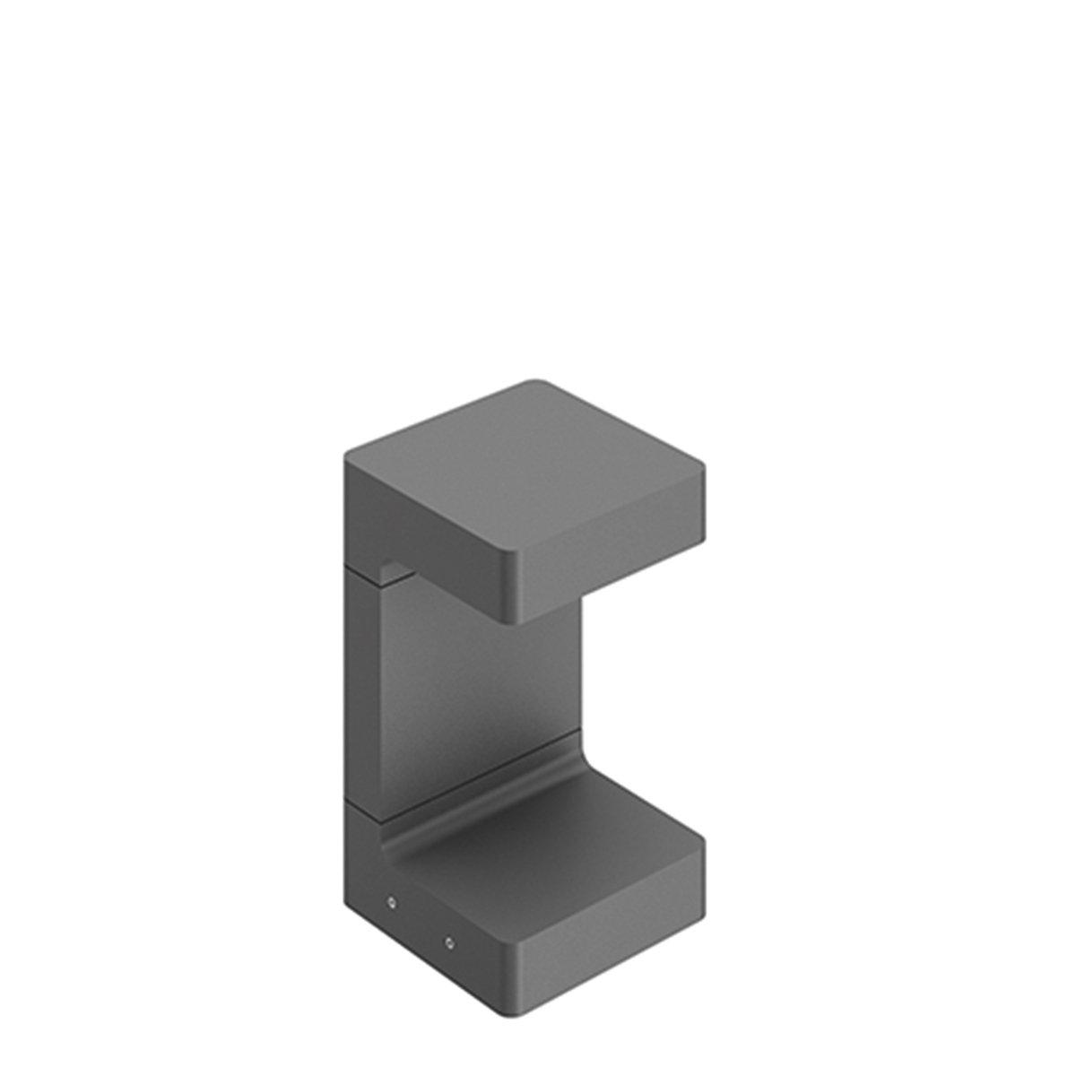 FLOS Casting C150 Outdoor Vloerlamp Antraciet - 25 cm.