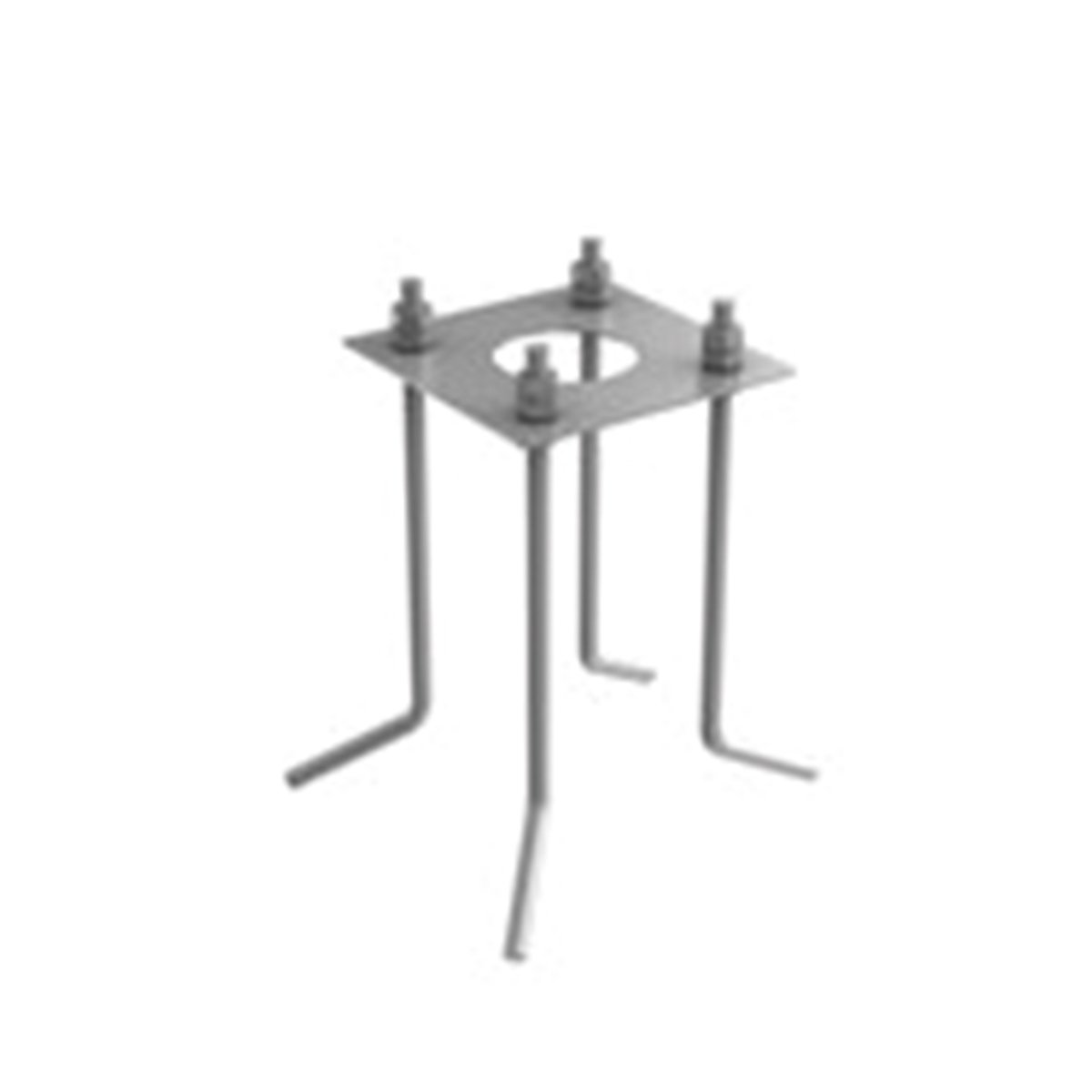 FLOS Base Plate Casting 100 Outdoor Vloerlamp