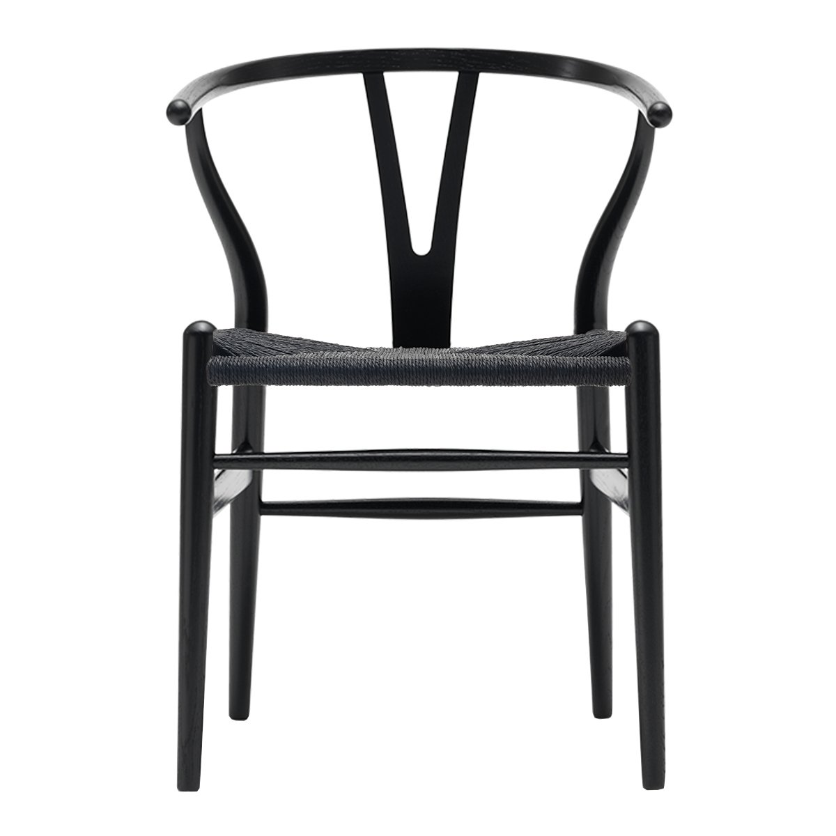 Carl Hansen Wishbone Chair Essen NCS S9000 - Zwart