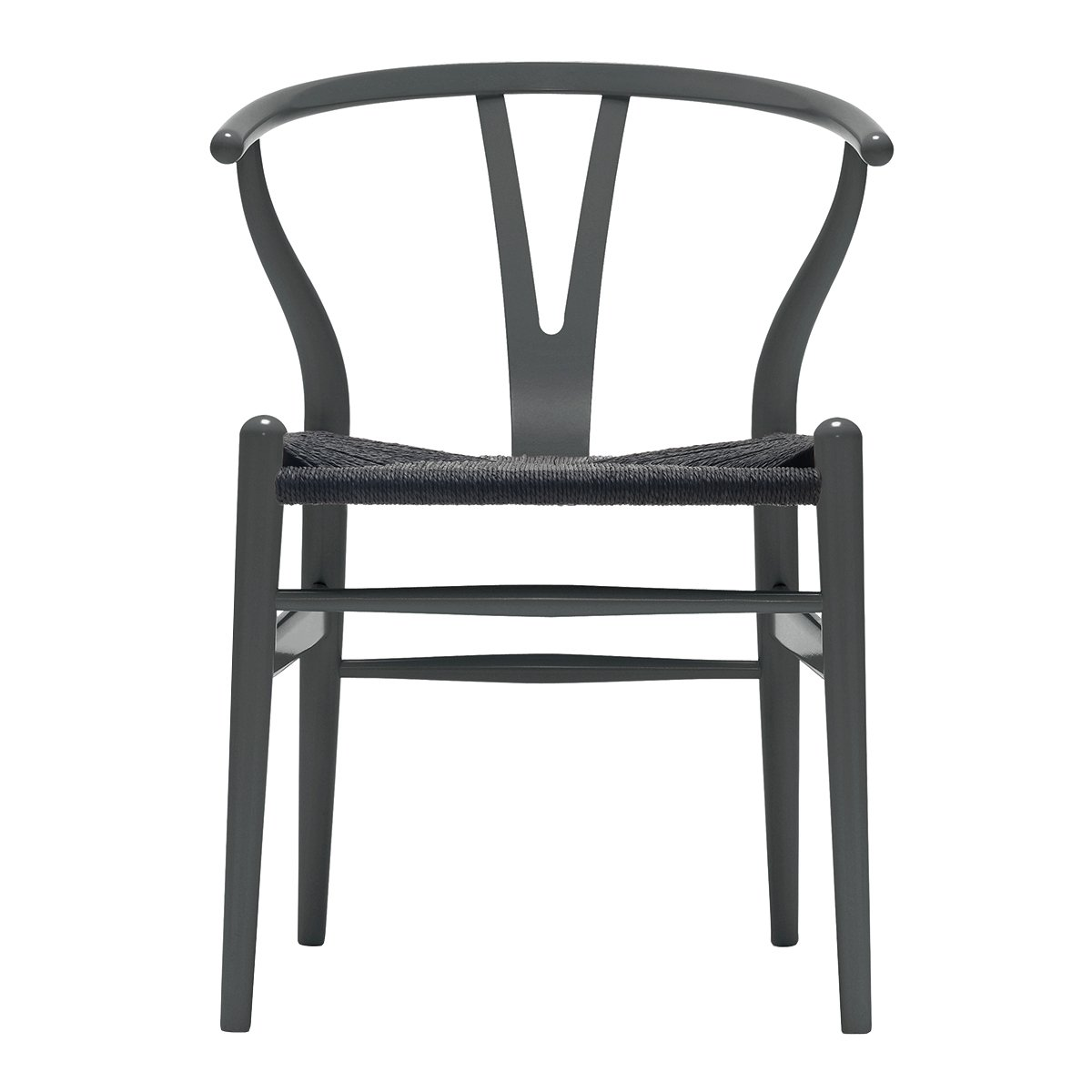 Carl Hansen Wishbone Chair NCS S7502-B - Zwart