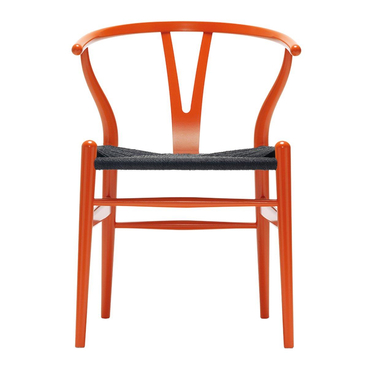 Carl Hansen Wishbone Chair NCS S2075-Y70R - Zwart