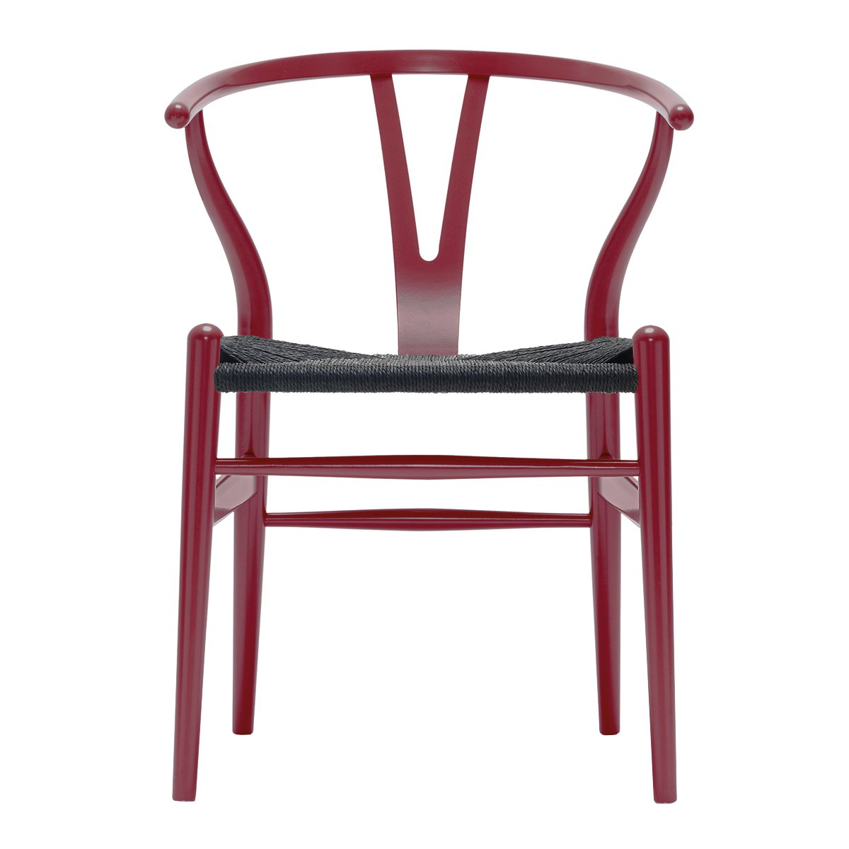 Carl Hansen Wishbone Chair NCS S4550-Y80R - Zwart