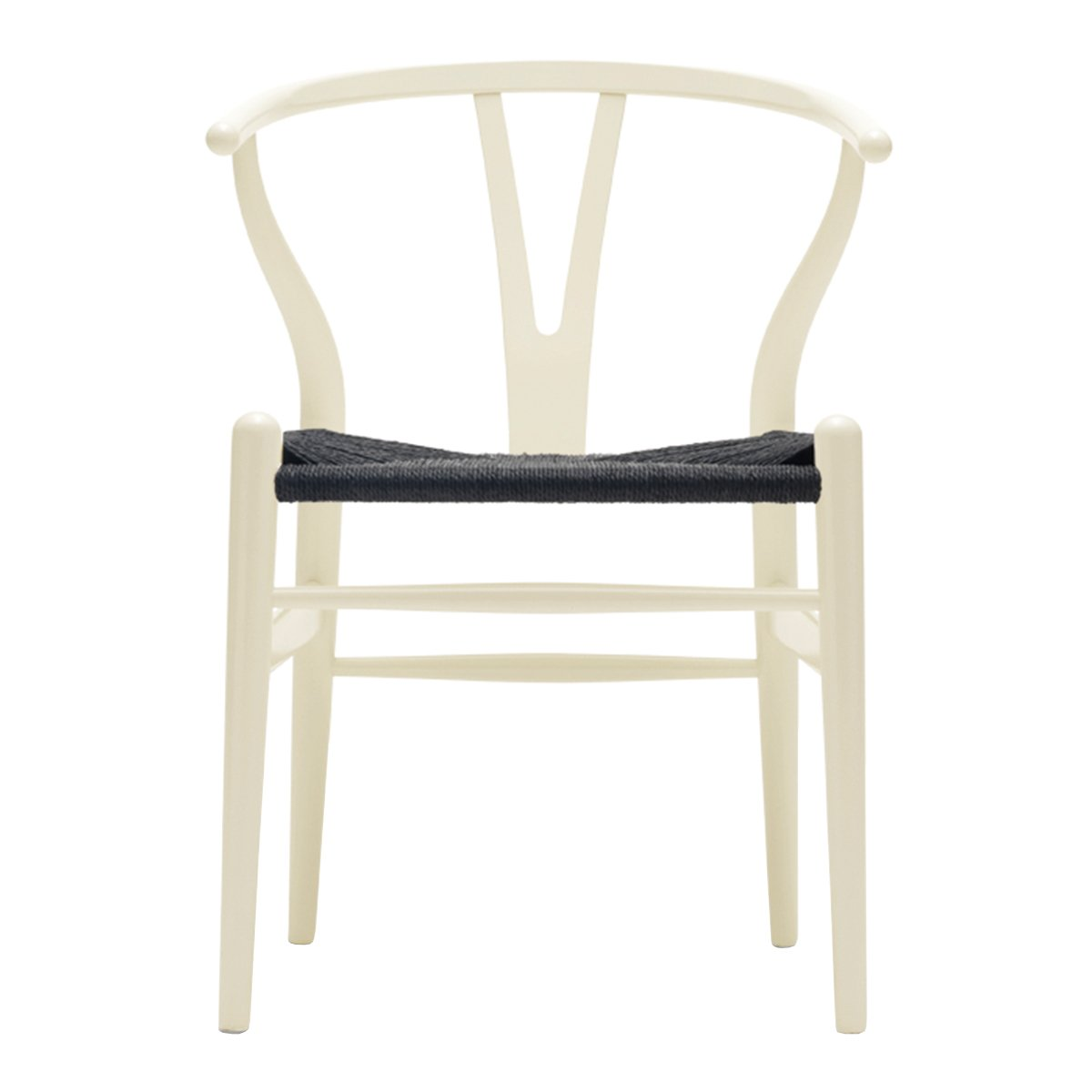 Carl Hansen Wishbone Chair NCS S1005-Y - Zwart