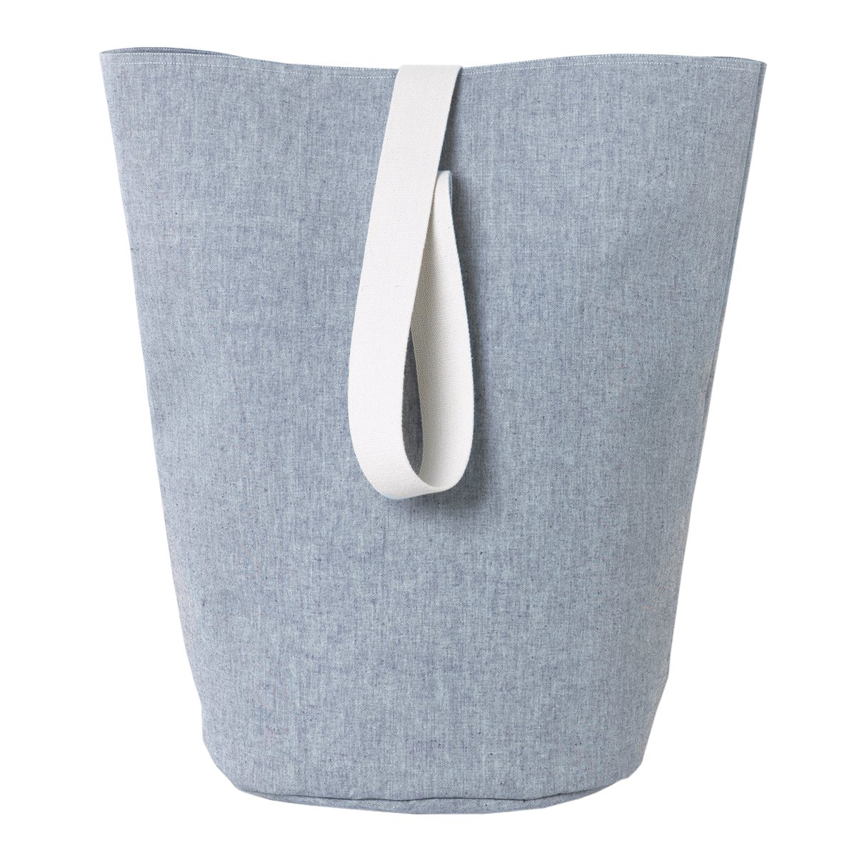 Ferm Living Chambray Basket - Blue - Large