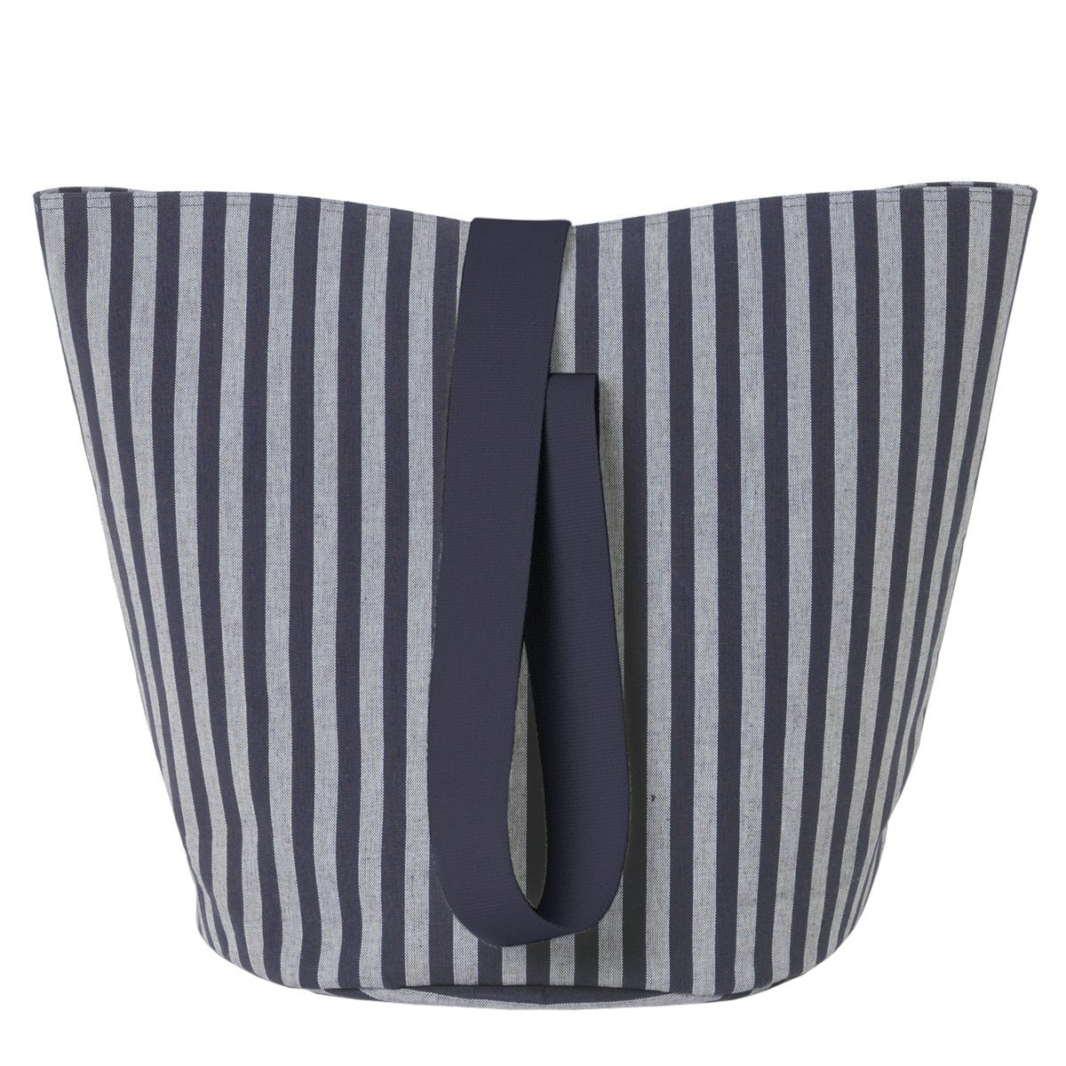 Ferm Living Chambray Basket - Stripes - Medium