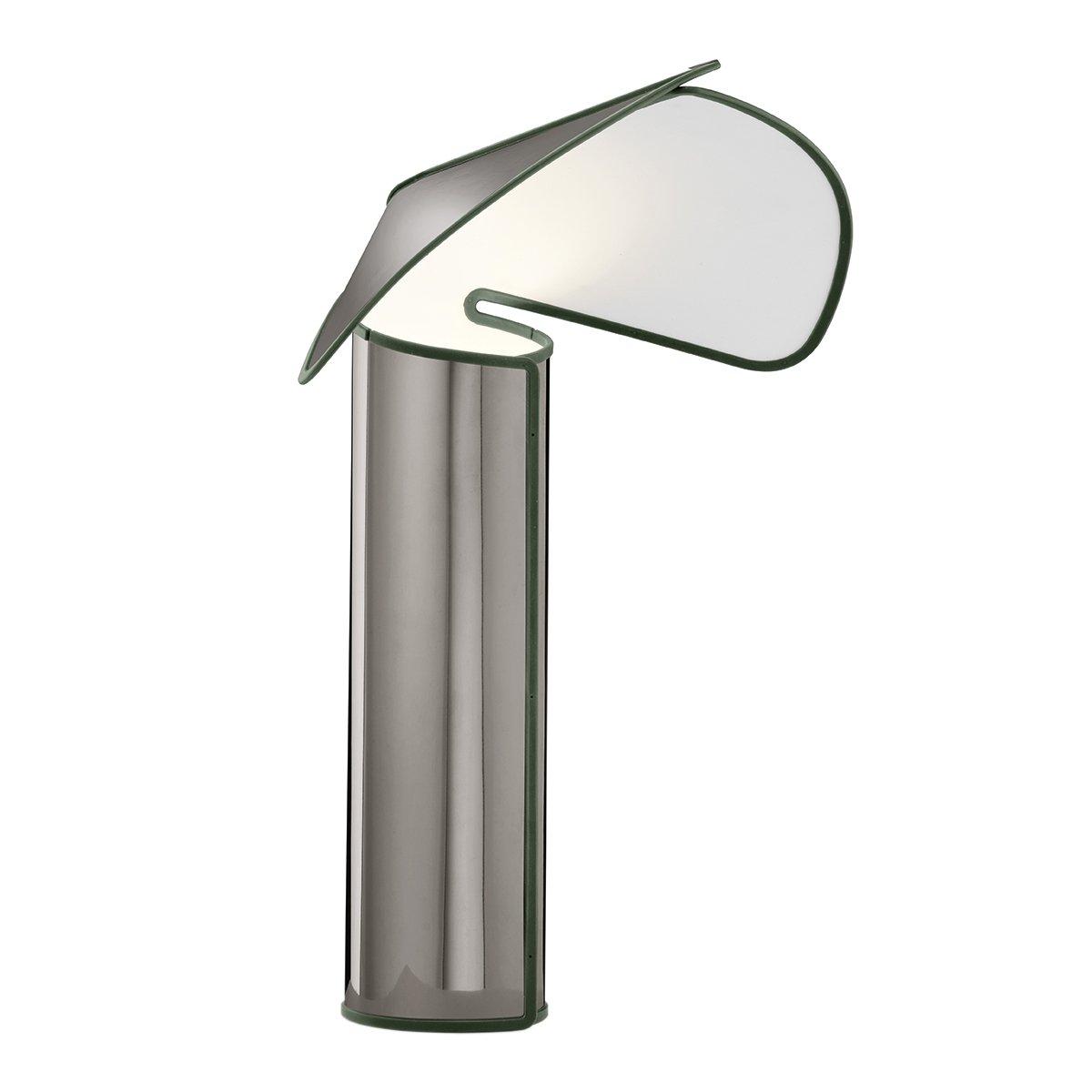 FLOS Chiara Tafellamp - Donkergrijs - Olijfgroen