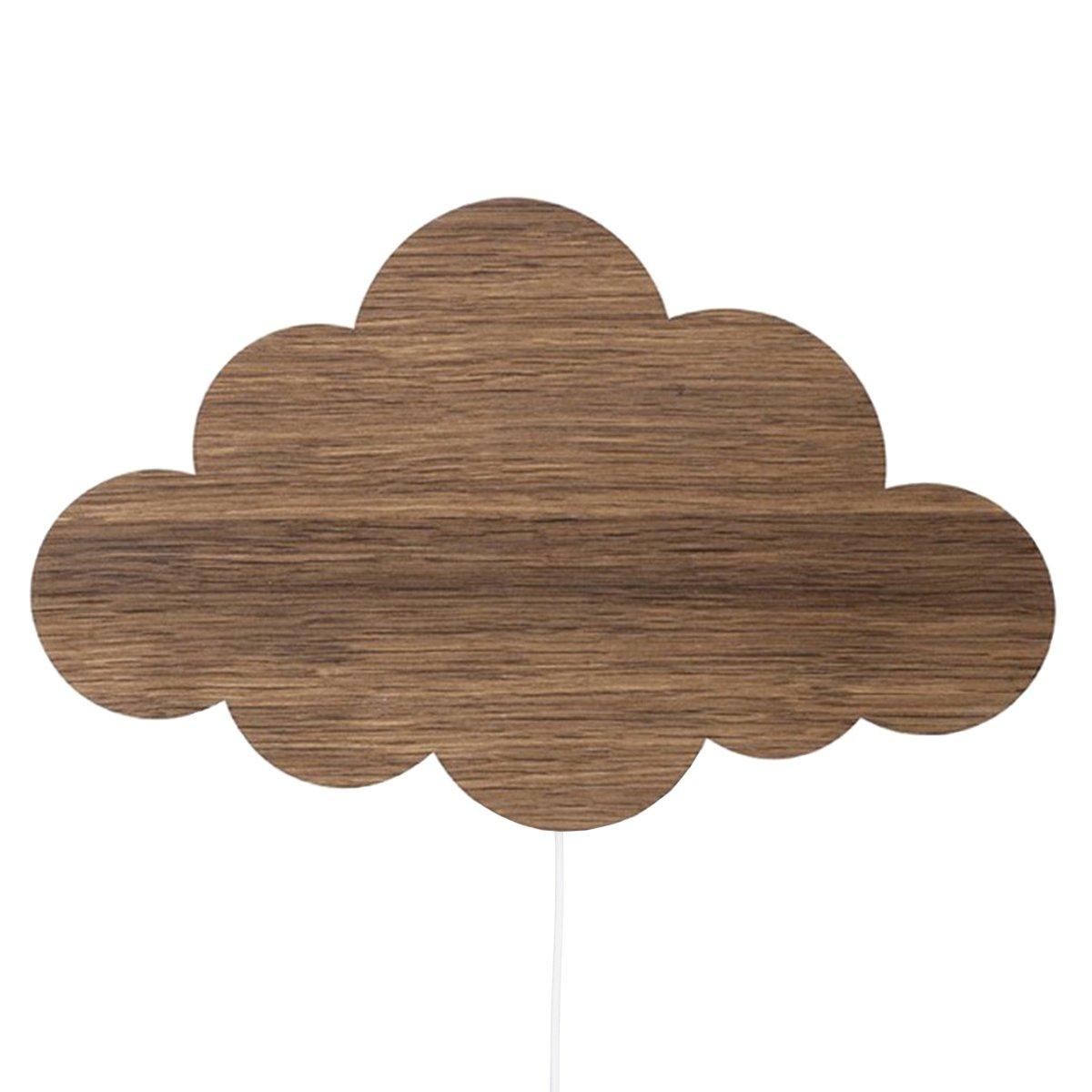 Ferm Living Cloud Wandlamp Eiken