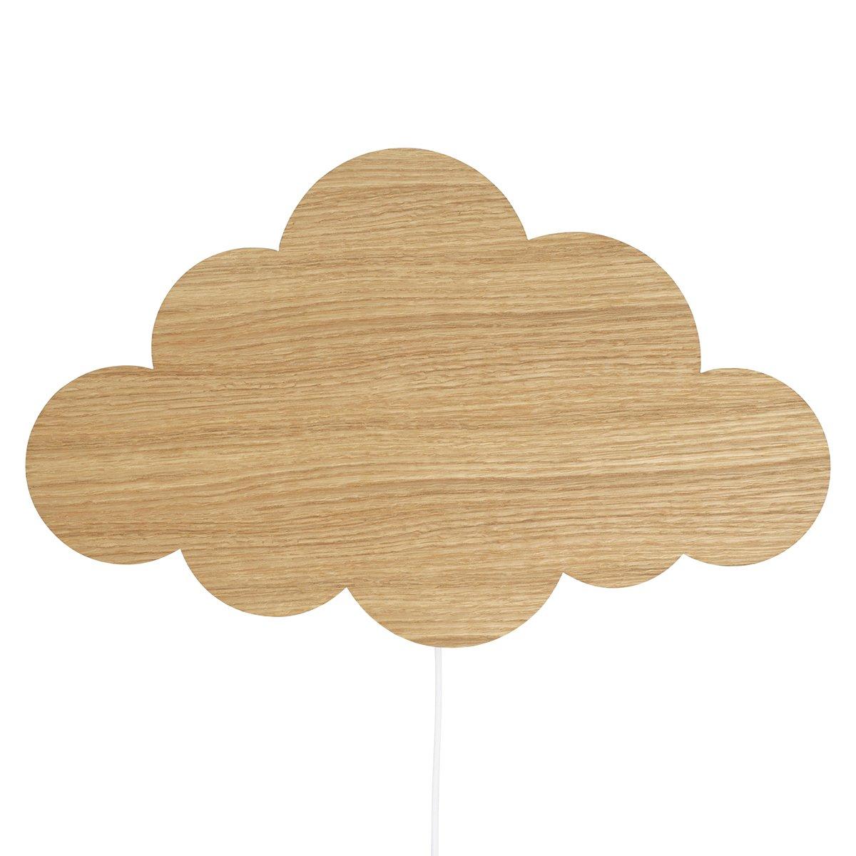 Ferm living Cloud Wandlamp - Oiled Oak