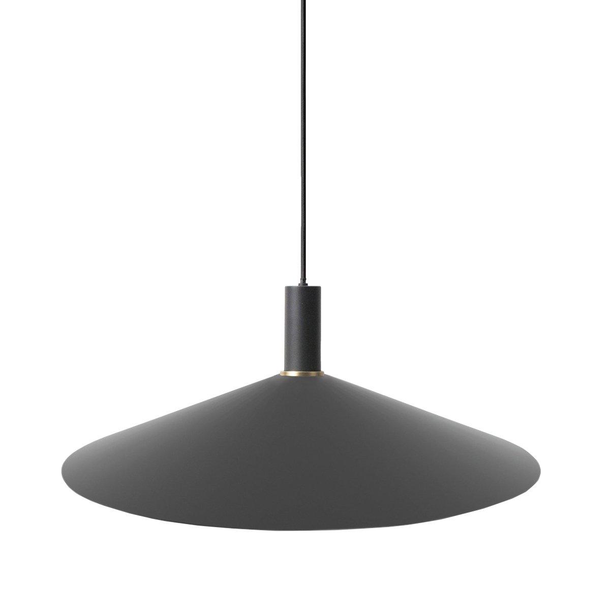 Ferm Living Collect Angle Zwart Low Hanglamp - Zwart