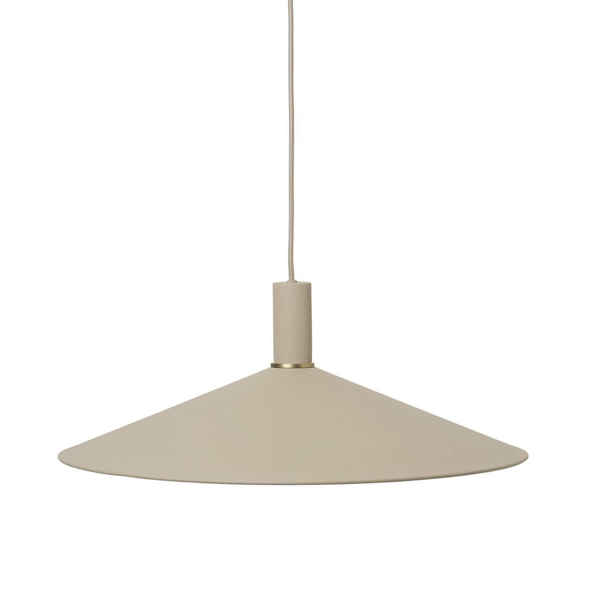 Ferm Living Collect Angle Cashmere Low Hanglamp - Cashmere