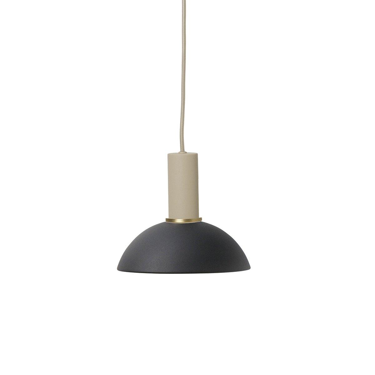 Ferm Living Collect Hoop Zwart Low Hanglamp - Cashmere