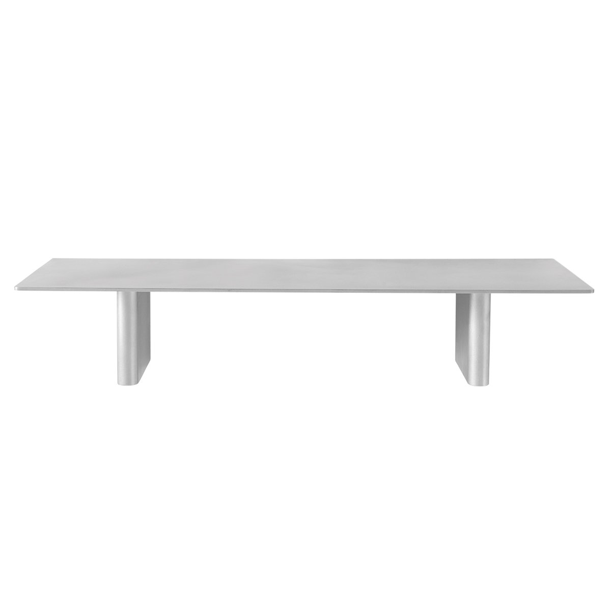 &tradition Column Wandplank - Aluminium 80 x 25 cm.