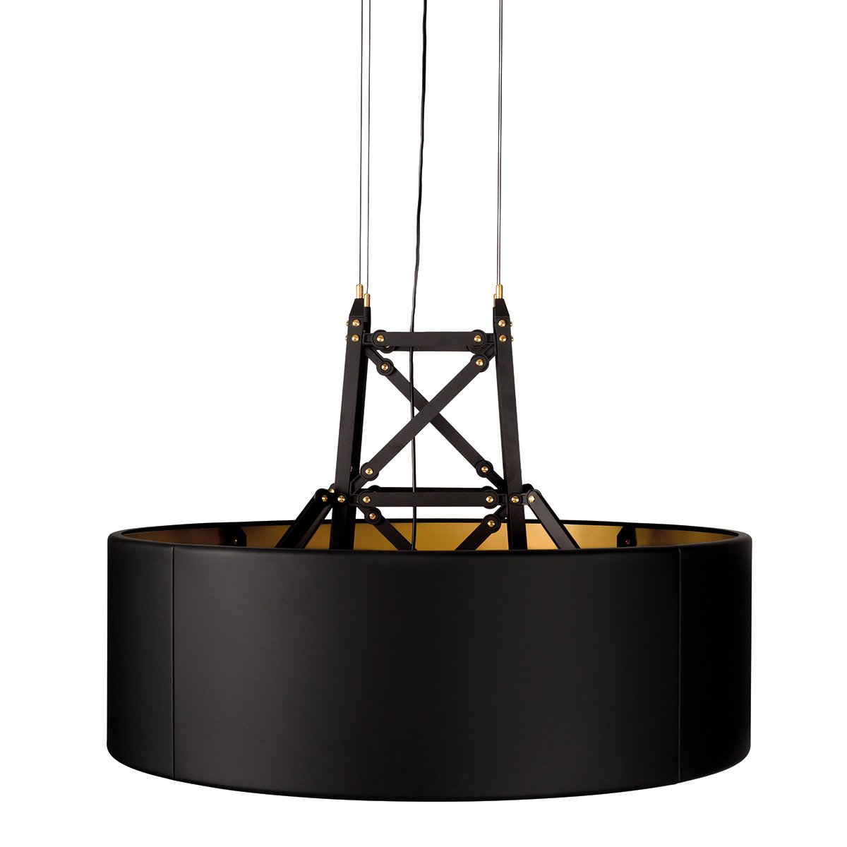 Moooi Construction Hanglamp - Mat Zwart - Large