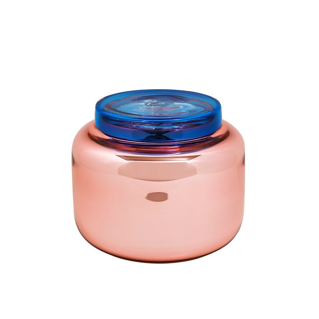 Pulpo Container Low Vaas - Roze Blauw