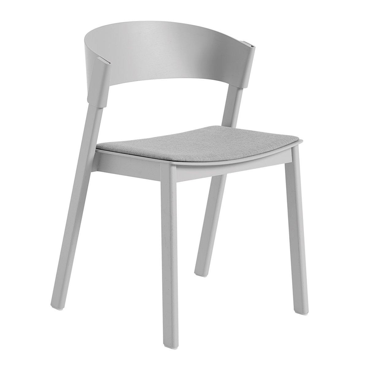 Muuto Cover Side Chair - Grijs - Remix 123 Zitkussen