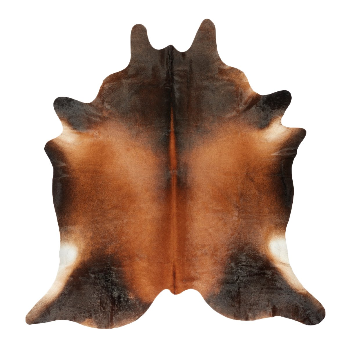 W�nder The Cowhide Koeienhuid - Donkerbruin 01