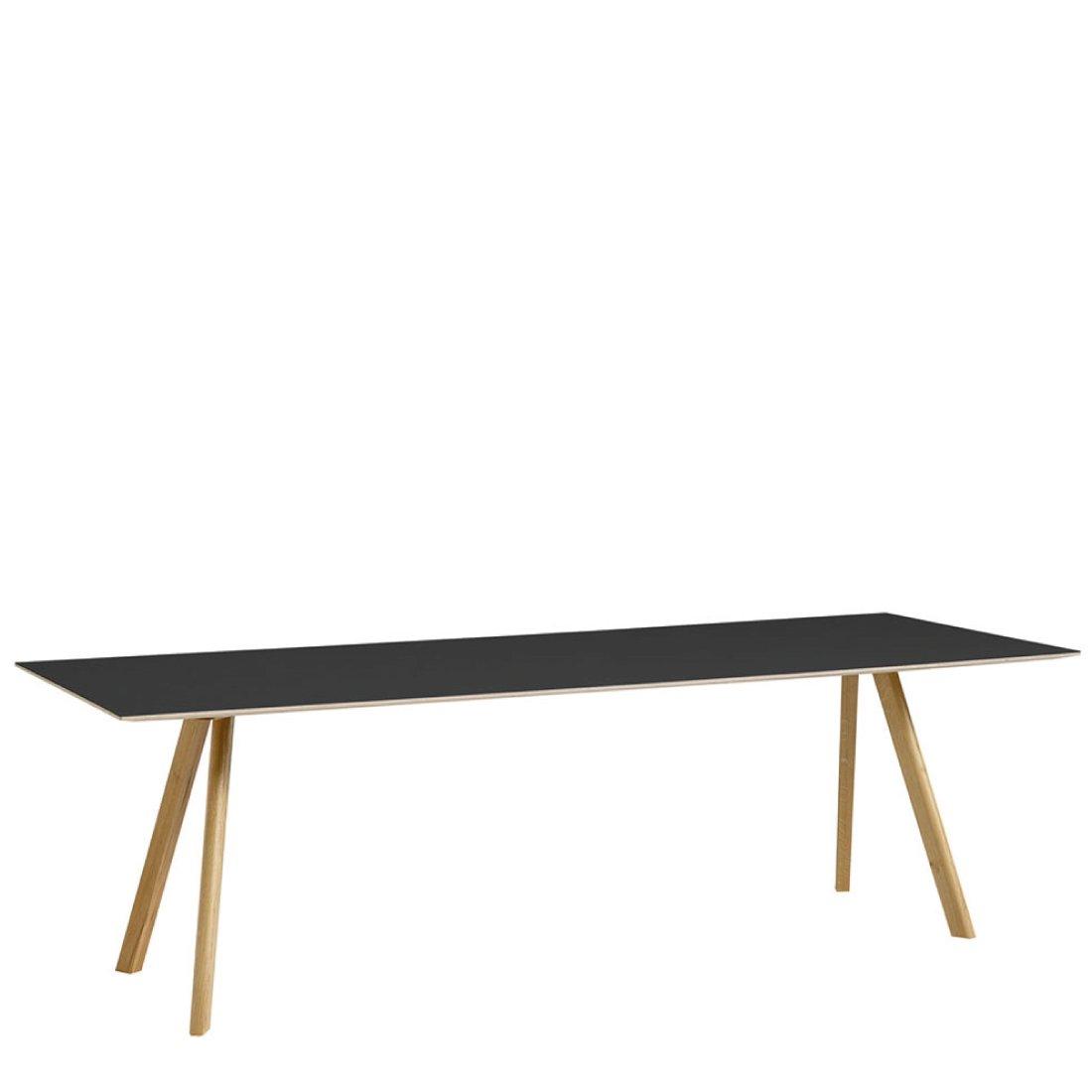 HAY CPH30 Tafel 250 x 90 cm Gelakt Eiken - Zwart