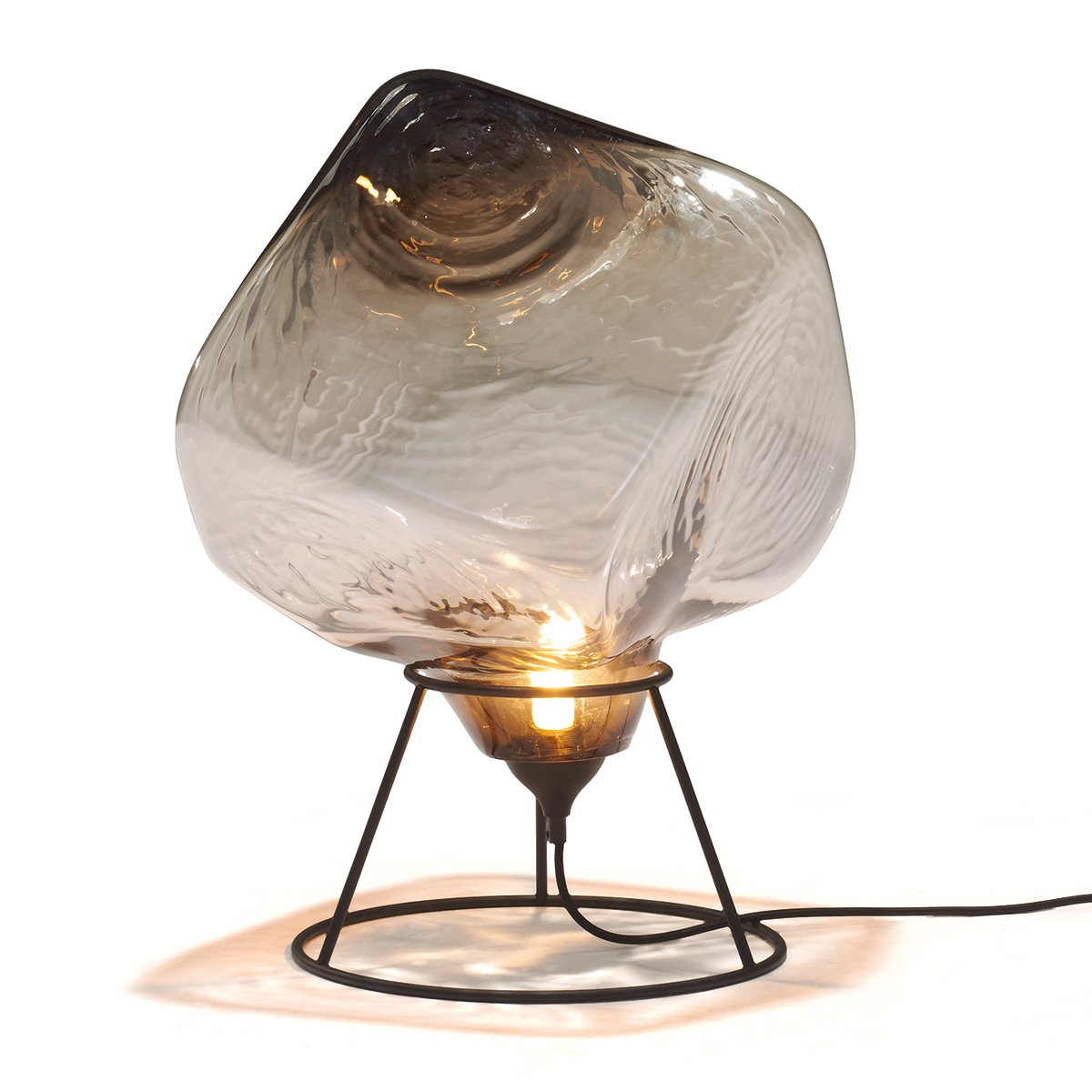 Linteloo Cubo lamp Small - Smoked Brown