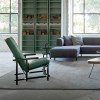 Cassina Black Red and Blue Zeilmaker Stoel