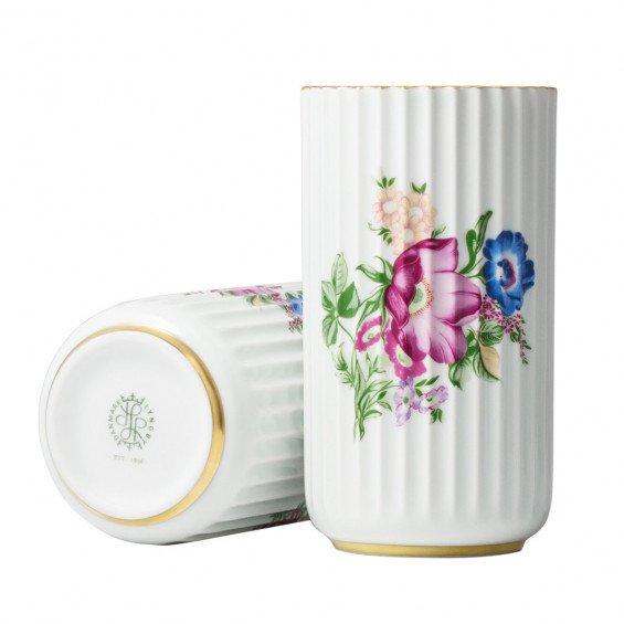Lyngby Porcelæn Lyngby Vaas Floral Decoration