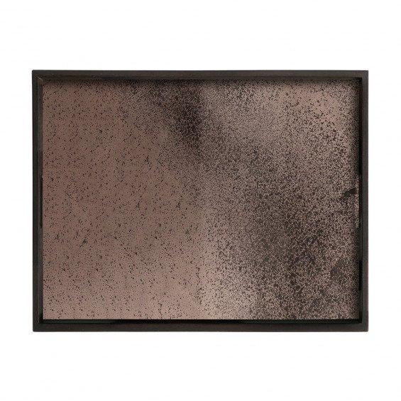 Ethnicraft Heavy Aged Bronze Mirror Dienblad