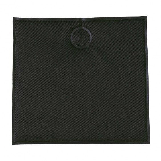 EMU Square Zitkussen - Zwart Magnetisch
