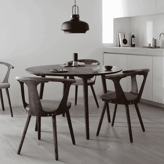 Tafel Rond Design.In Between Eettafel Tradition Misterdesign