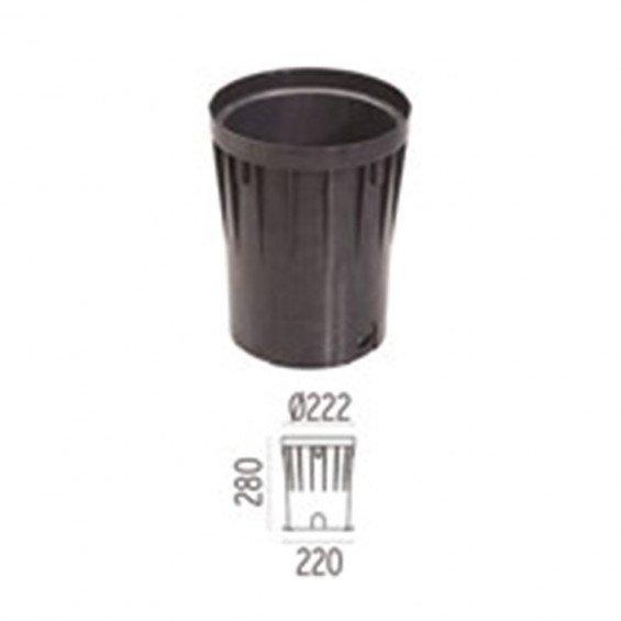 FLOS Inbouwbehuizing A-Round 240 Outdoor Vloerlamp