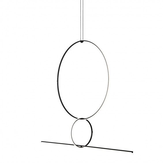 FLOS Arrangements Hanglamp 3 - Round Small, Large & Line