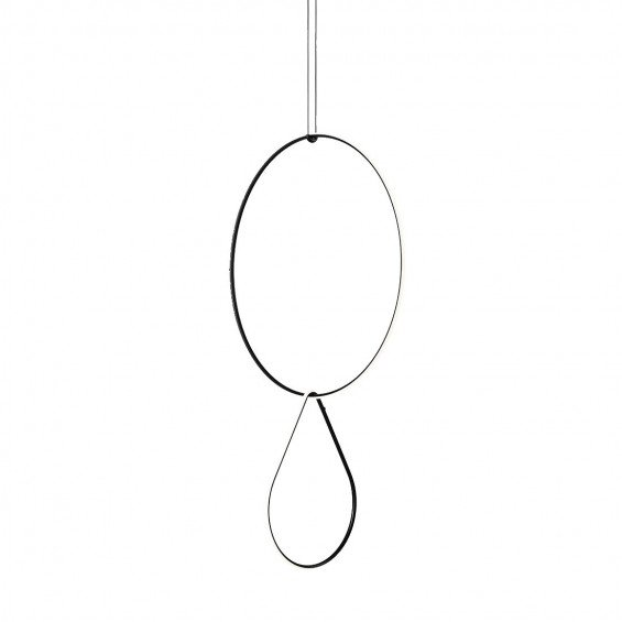 FLOS Arrangements Hanglamp 2 - Round Large & Drop Up