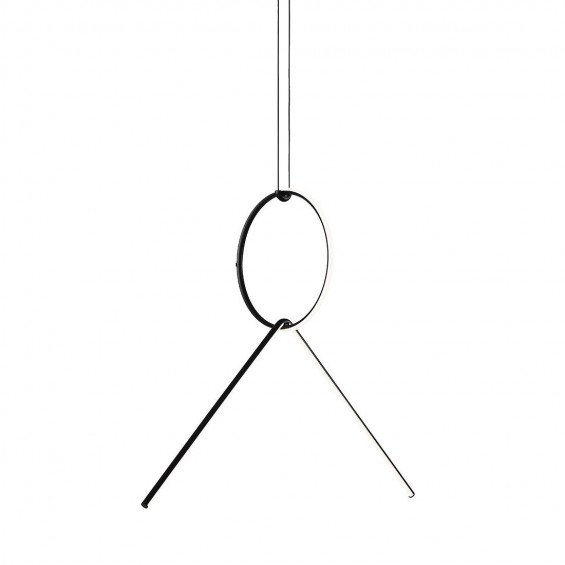 FLOS Arrangements Hanglamp 2 - Round Small & Broken Line
