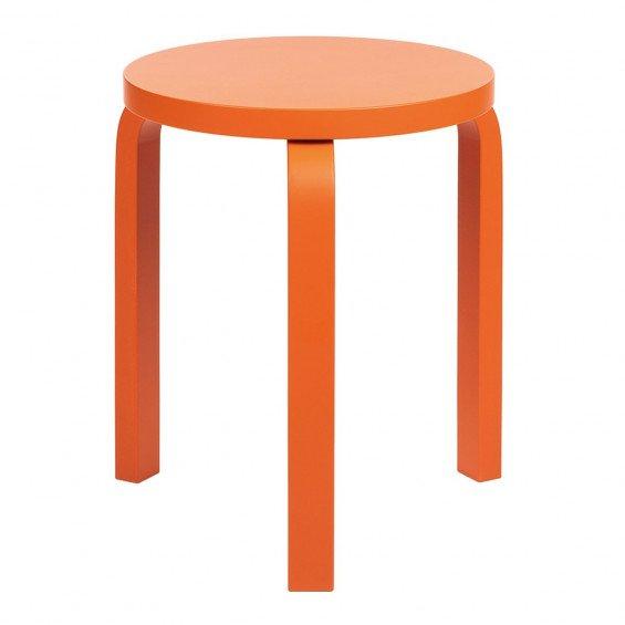 Artek MisterDesign Limited Edition Imperial Orange 60 Stool