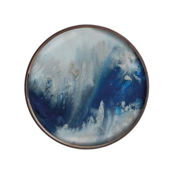 Ethnicraft Blue Mist Organic Dienblad
