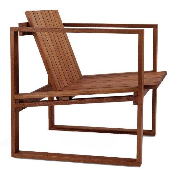 Carl Hansen BK11 Outdoor Loungestoel - Bodil Kjær