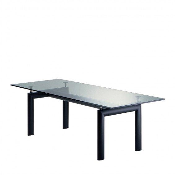 Metalen Tuintafel Met Glasplaat.Cassina Lc6 Tafel Misterdesign